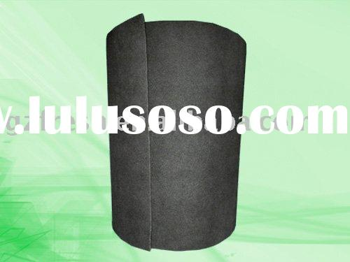 Activated carbon roll filter media ISO9001 EN799 accredited