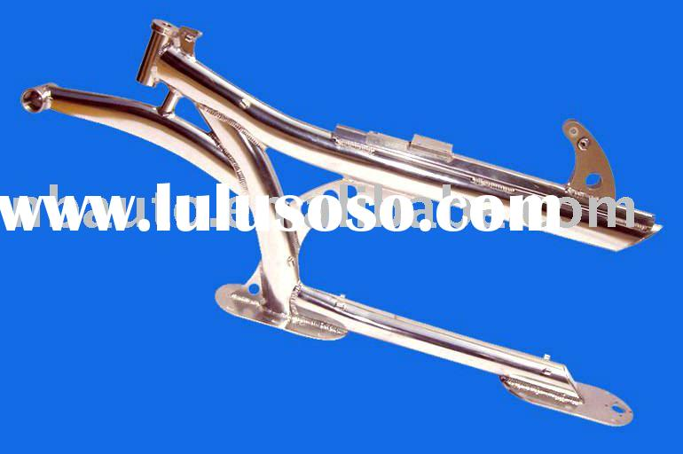 Aluminum welding, bicycle frame