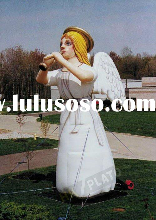 Attractive Customized shape Giant Inflatable balloon Angel