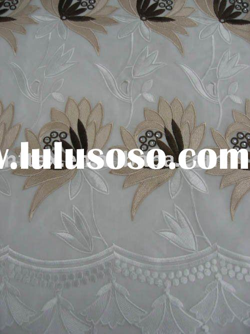 Big lace,embroidery lace,African Voile Lace DF001 ( 3 ),wholesale and retail