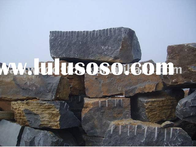 Black limestone Blocks