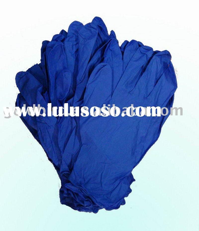 Blue Disposable Nitrile Gloves GB7002A