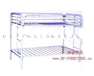 Bunk Bed (Metal Bunk Bed, Student Furniture) HP-17-019