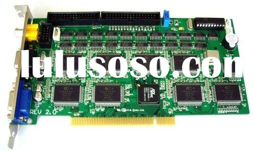CCTV Security, 16 Channel DVR Card, PCI DVR Card, 400/480fps