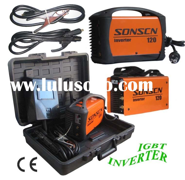 CE inverter welding machine/mma welding machine/ arc welder ZX7-120