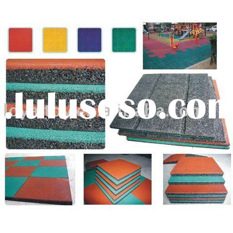 CE outdoor playground rubber mats