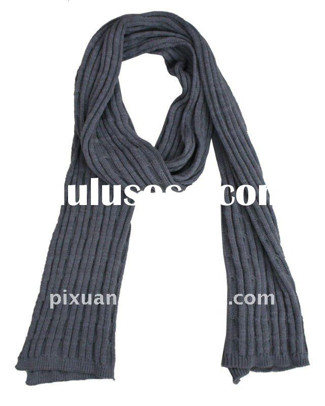 Knitting pattern cable scarf - TheFind