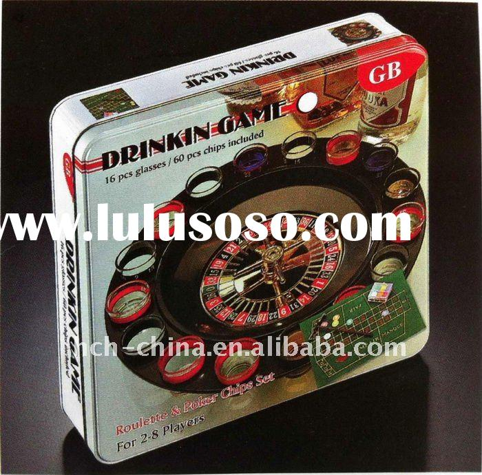 Casino Set Drinking Roulette Set Drinking Game