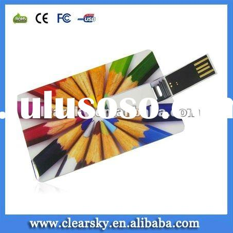 Cheapest Credit card usb flash memory OEM