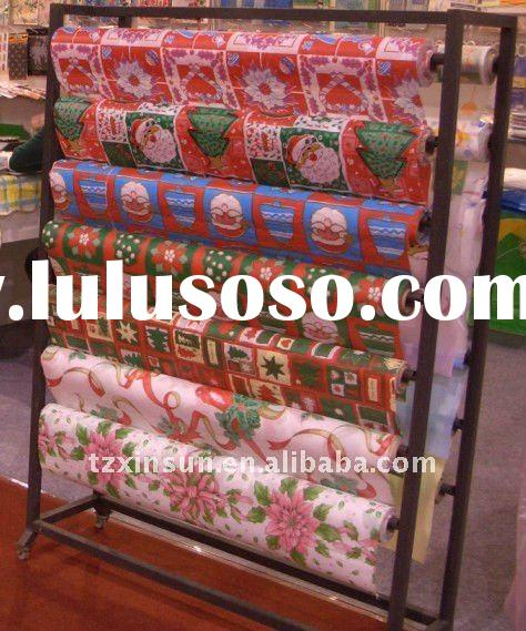 Christmas table cloth/ XMAS table cover in roll