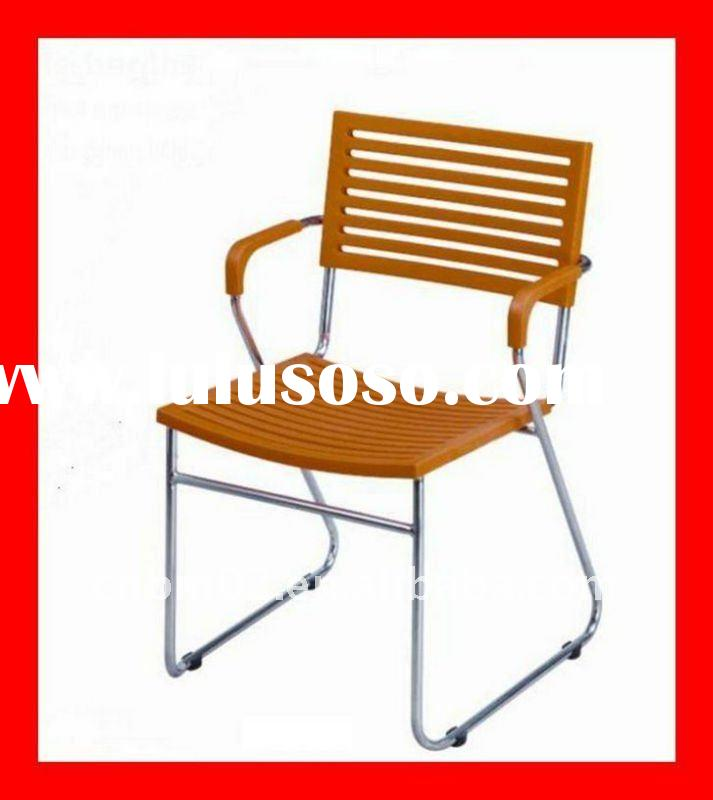 Chromed metal frame outdoor stackable/stacking plastic party events chairs