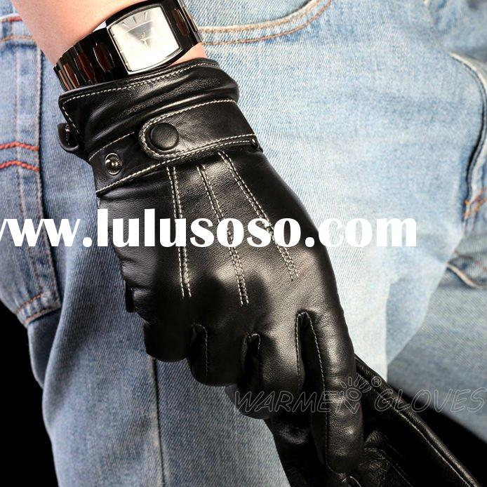 Classic Style,Best-selling,2 Colors,Men's Leather Gloves