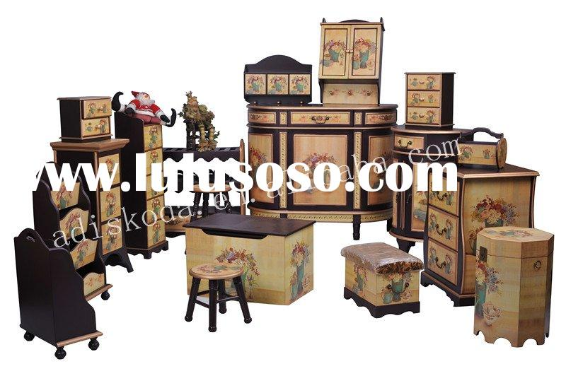 Classic Wood Living Room Furniture Set