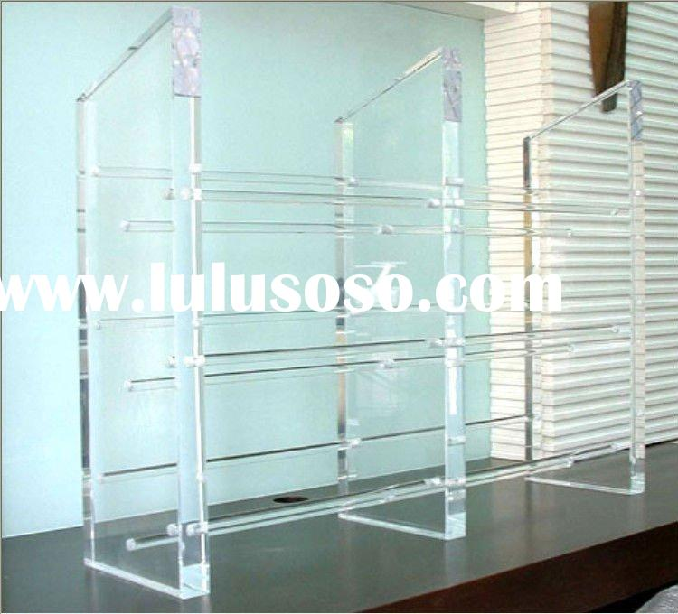 Clear Acrylic CD/DVD Display Rack