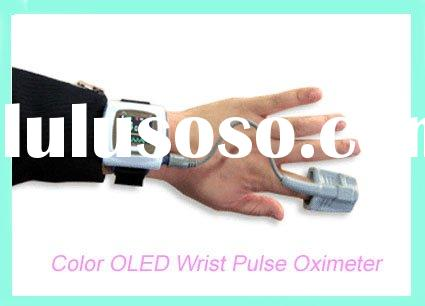 Color OLED wrist pulse oximeter / pulse meter/ oximeter pulse CE and FDA