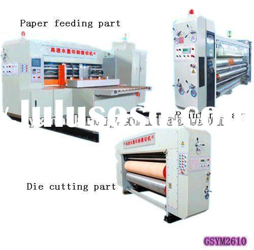 Computer Fully Automatic Printing Slotting Die Cutting Machine