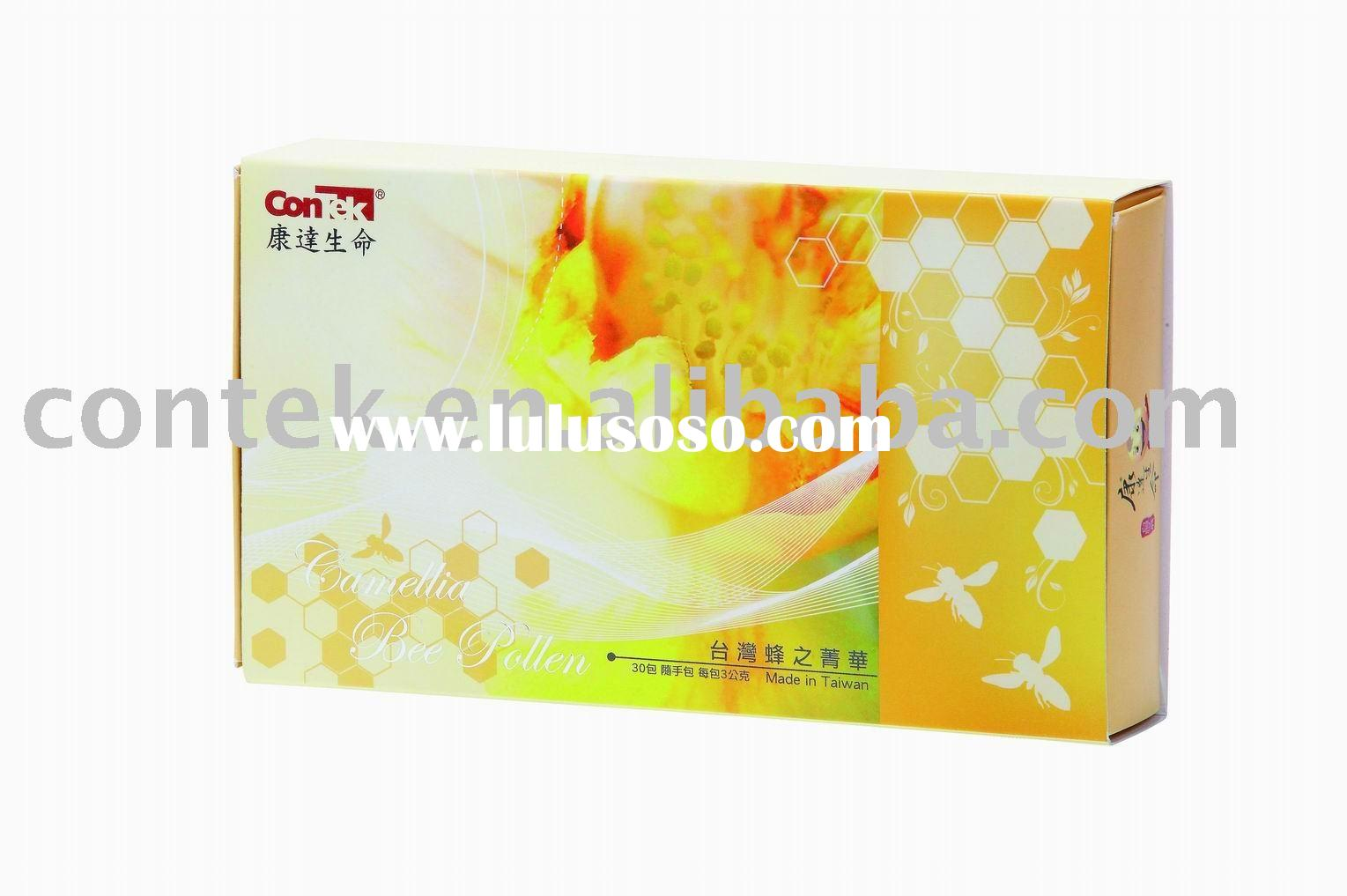 Cracked-cell Camellia Honey Bee Pollen Taiwan Bee Product