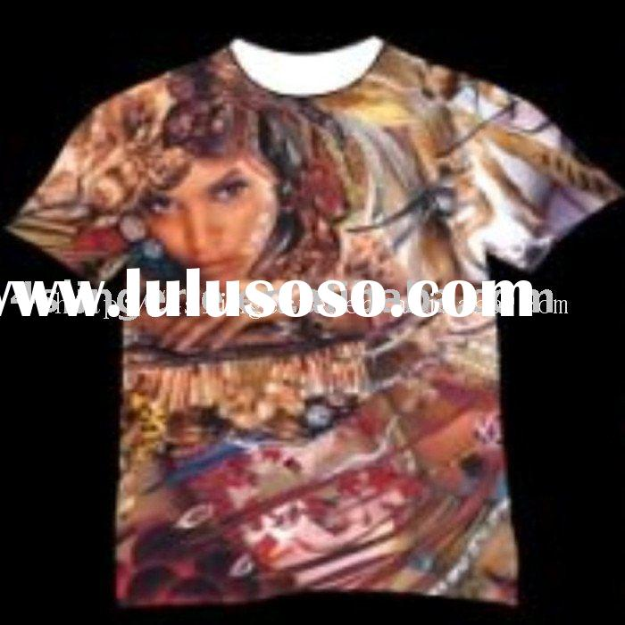 Custom Sublimation Transfer Printing T-shirts