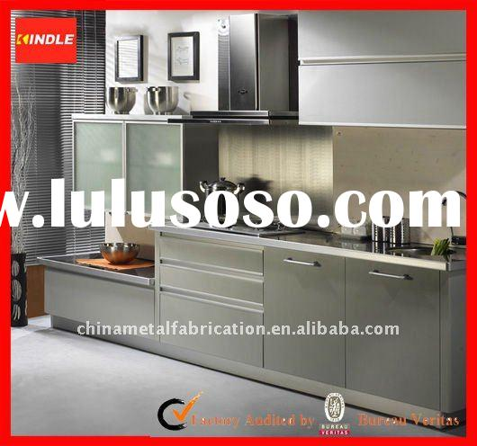 Metal Kitchen Cabinets Manufacturers: Stainless Steel Kitchen Cabinet, Stainless Steel Kitchen