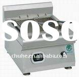 Double cylinder commercial deep fryers