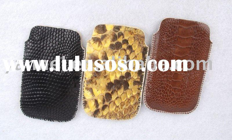 Exotic skin mobile phone cases ,leather mobile case