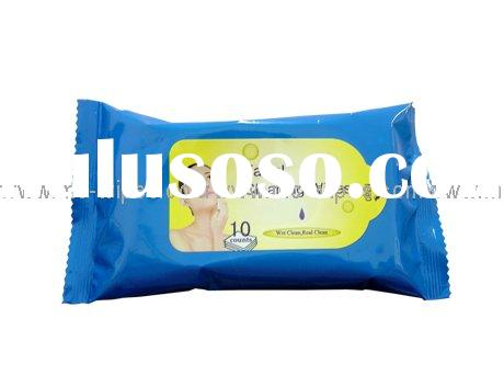 Facial cleaning wet wipes