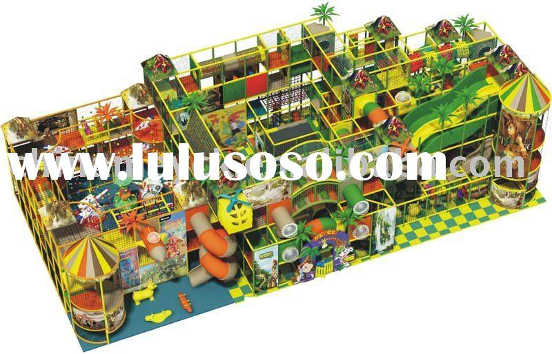 Fantastic Kid's Amusement Park TQ-TSL113 commercial indoor playground equipment
