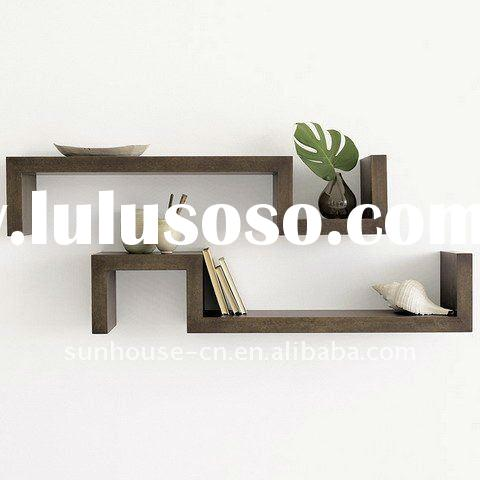 wooden wall shelf designs