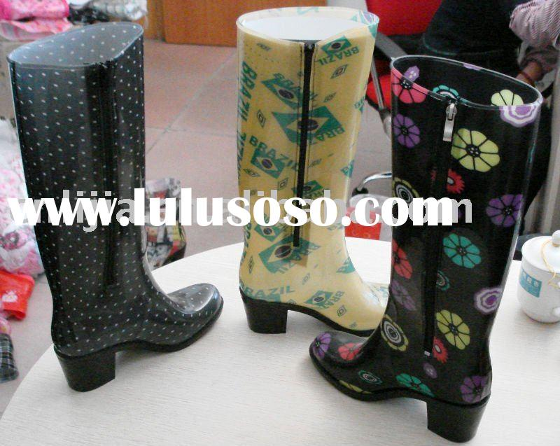 Fashion Wellington Rubber Rain Boots