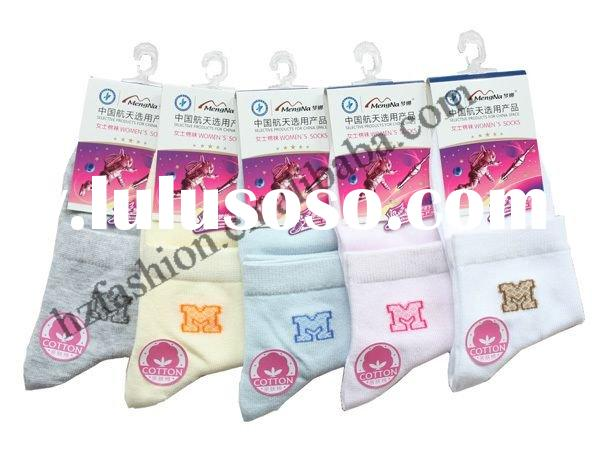 Fashion women organic cotton socks