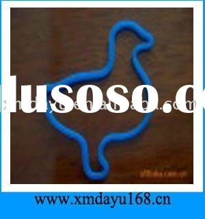 Fluorescent Animal Shaped Silicone Rubber Bands