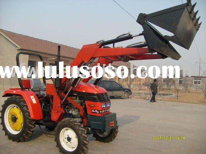 Front end loader compact to tractor