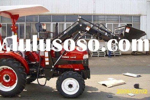 Front end loader for Jinma tractor with 4in1 bucket