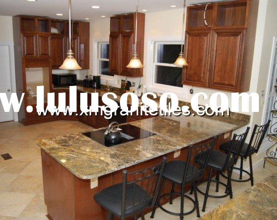 Granite Table Top with Kitchen Cabinet