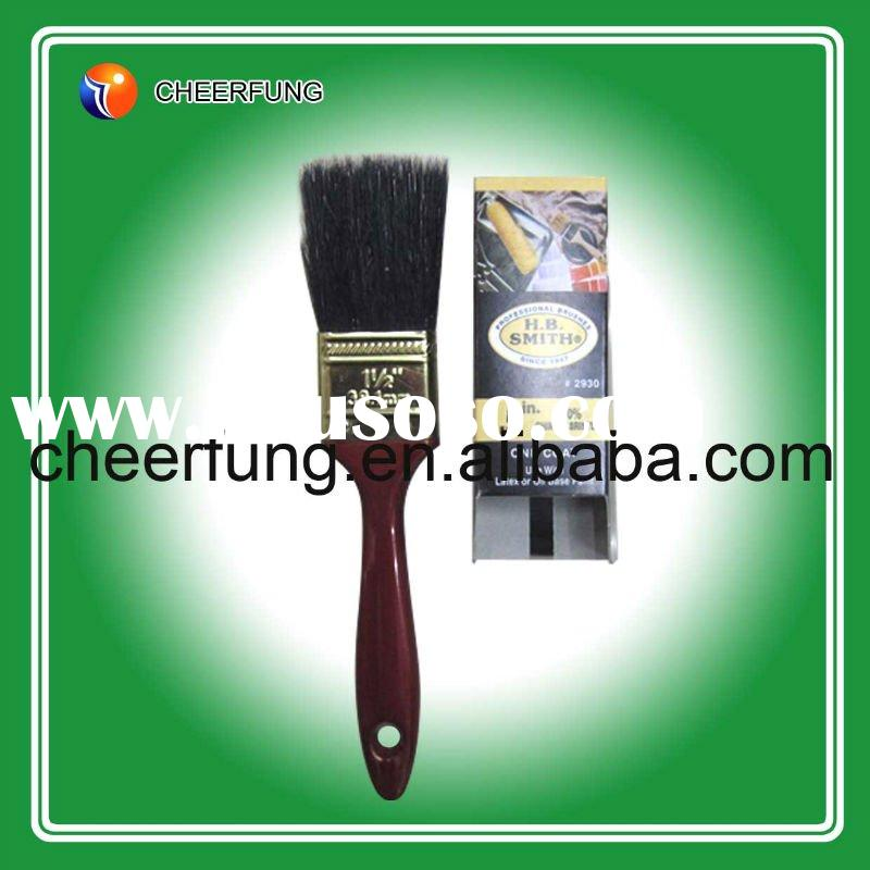 H.B.SMITH TYPE PAINT BRUSH WITH RED PLASTIC HANDLE (PB-0023)