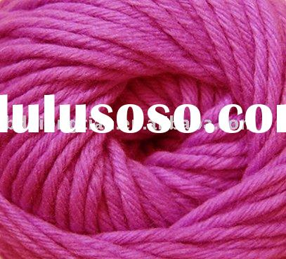 Hand knitting 8nm/4 pure merino wool yarn,50g=100m