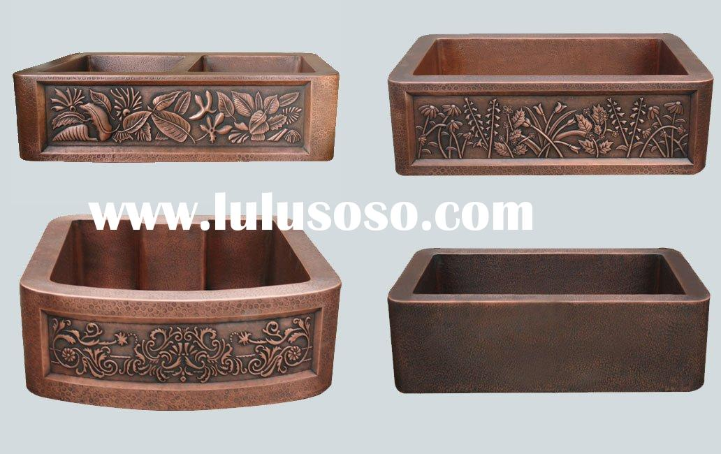 Handmade Kitchen Copper Sinks/Copper Basin/Copper Bowl/Copper Vessel