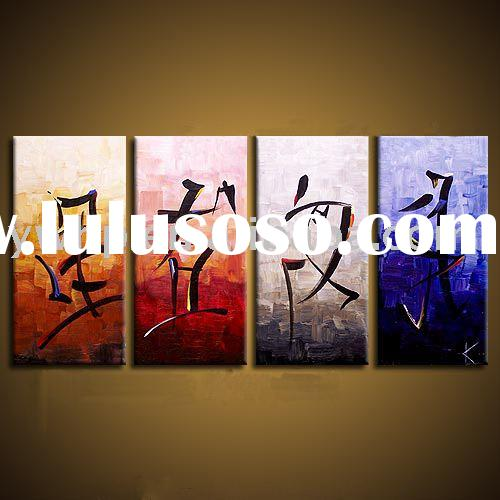 Handmade canvas painting,abstract oil painting,group painting,wall art,home decoration