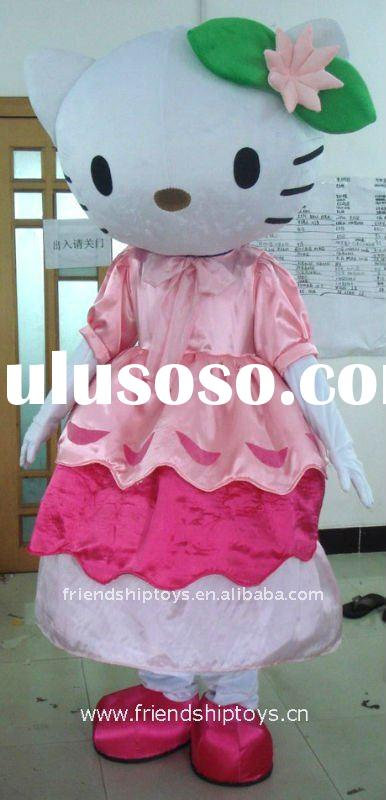 Hello Kitty flower fancy dress costumes