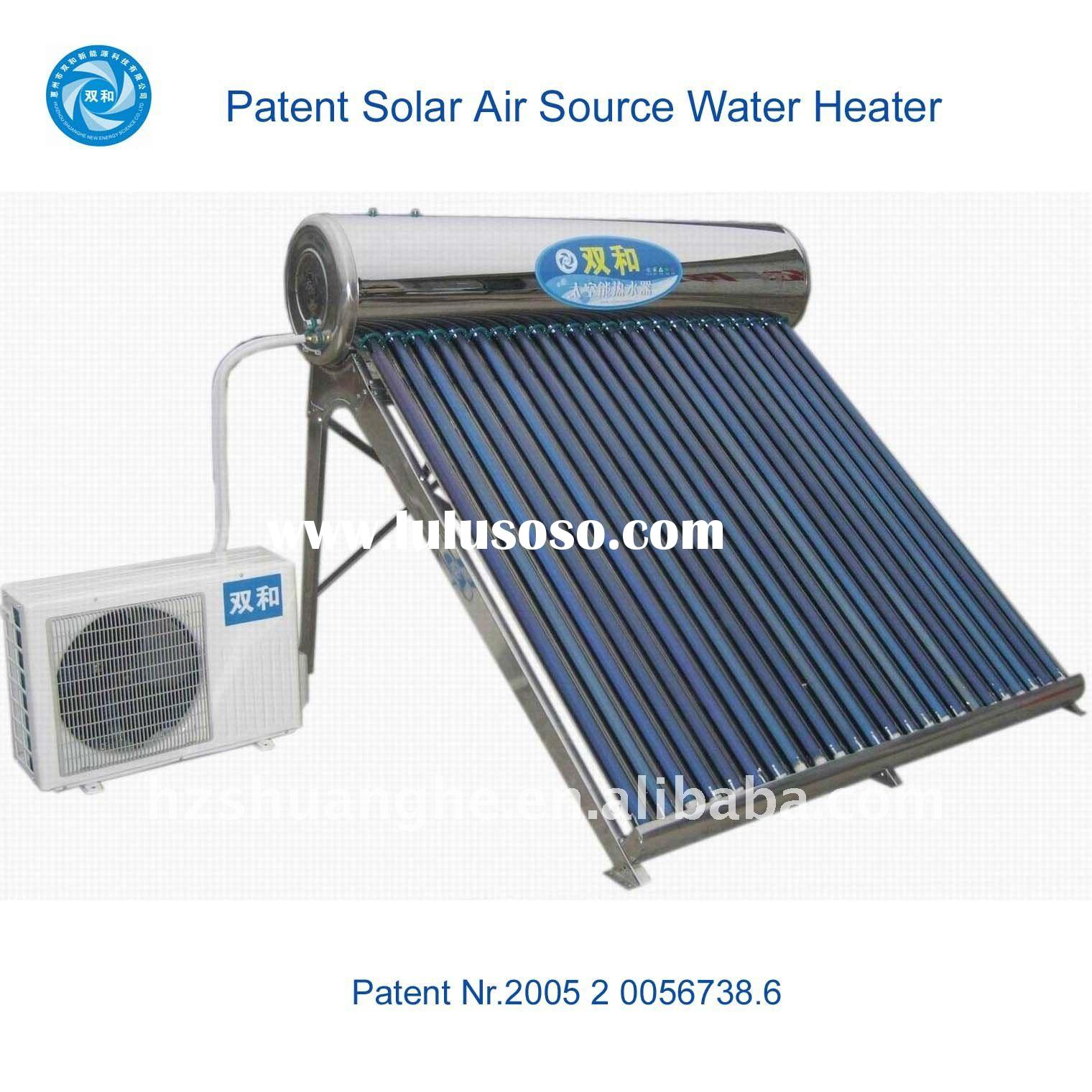 High efficient renewable energy sources water heater