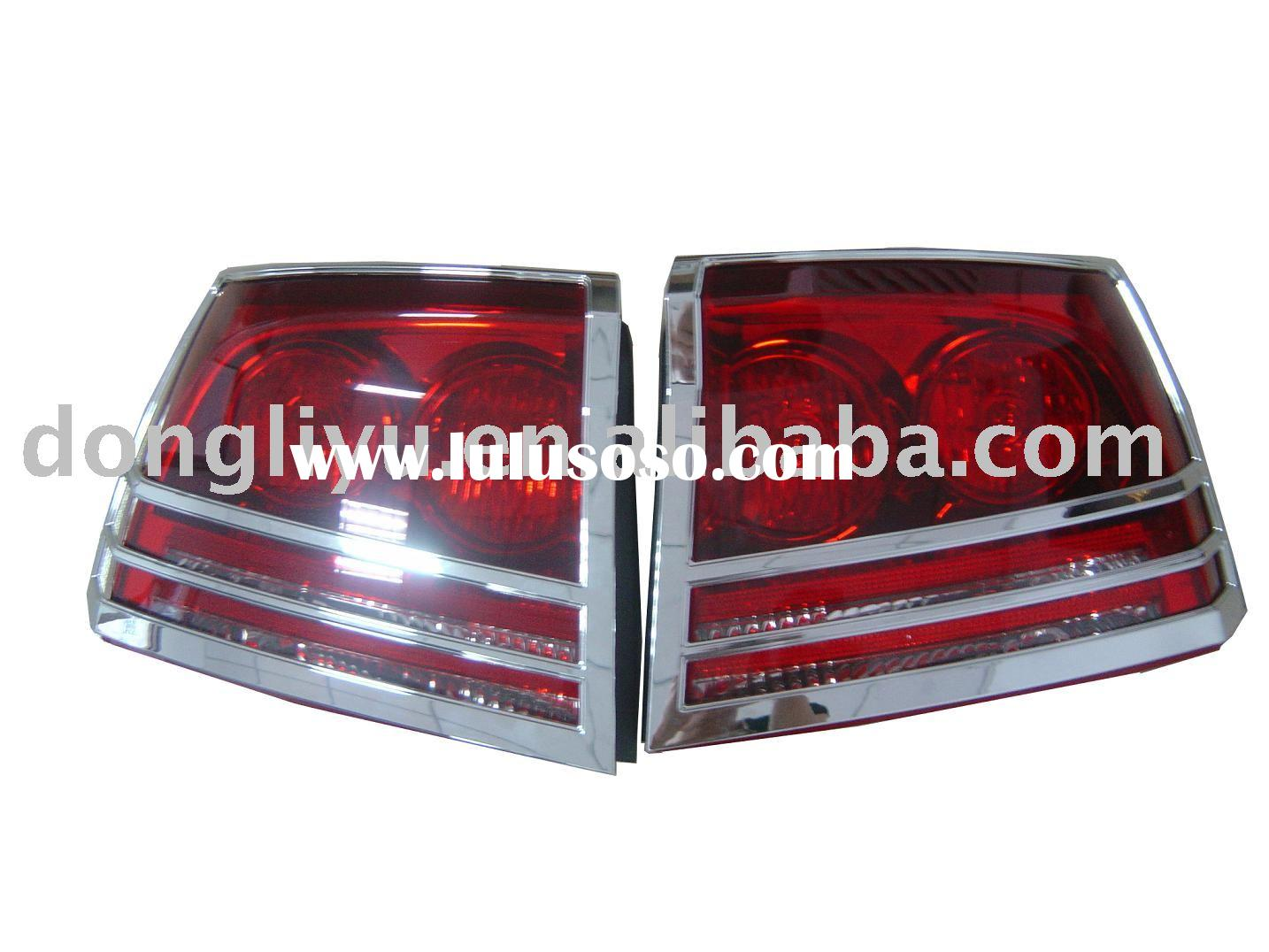 High quality car plastic ABS chrome tail light cover for dodge charger
