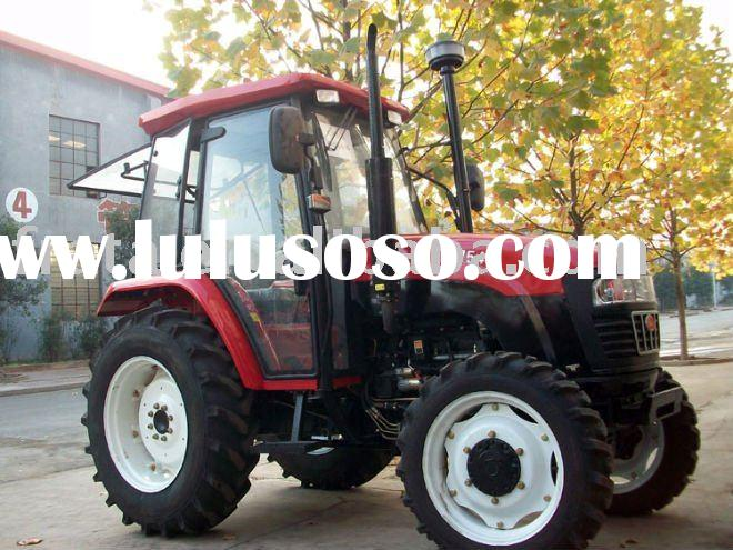 Hot sale Good Universal Popular Farm Agricultural Tractor 75hp 4x4 with various implements