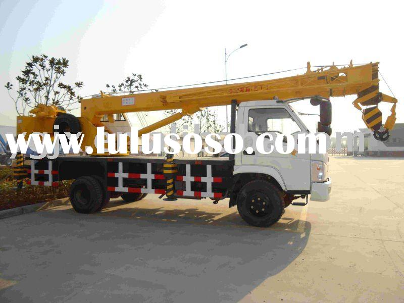 Hydraulic crane, well truck crane,new 10 tons hoist auto crane made in China