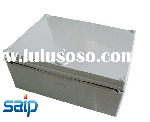 IP65 plastic waterproof ABS/PC gray cover enclosure