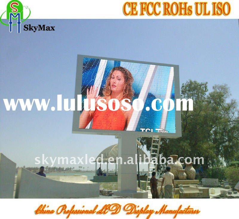 Innovative led display outdoor advertising equipment