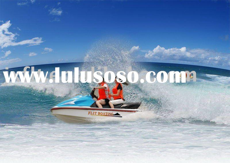 Jet Ski with National Patent Closed-loop Fresh Water Circulation Cooling System