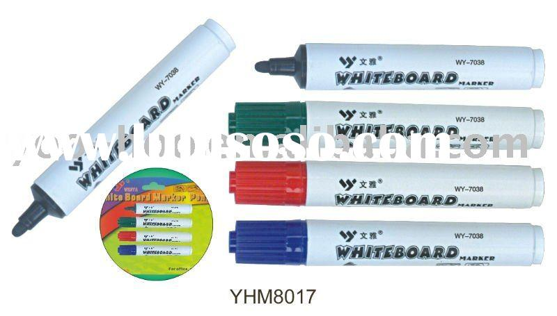 Jumbo Dry erase marker with clip YHM8017