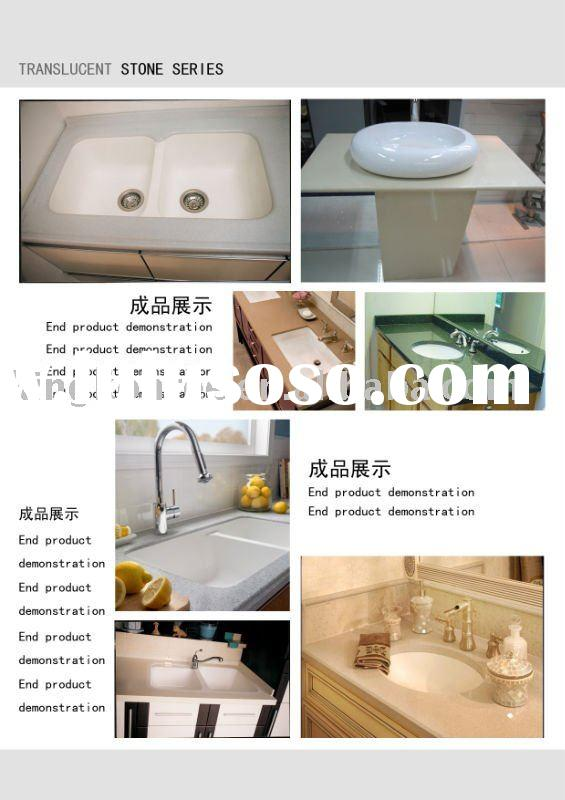 KKR acrylic solid surface wash sink/undermount kitchen sink