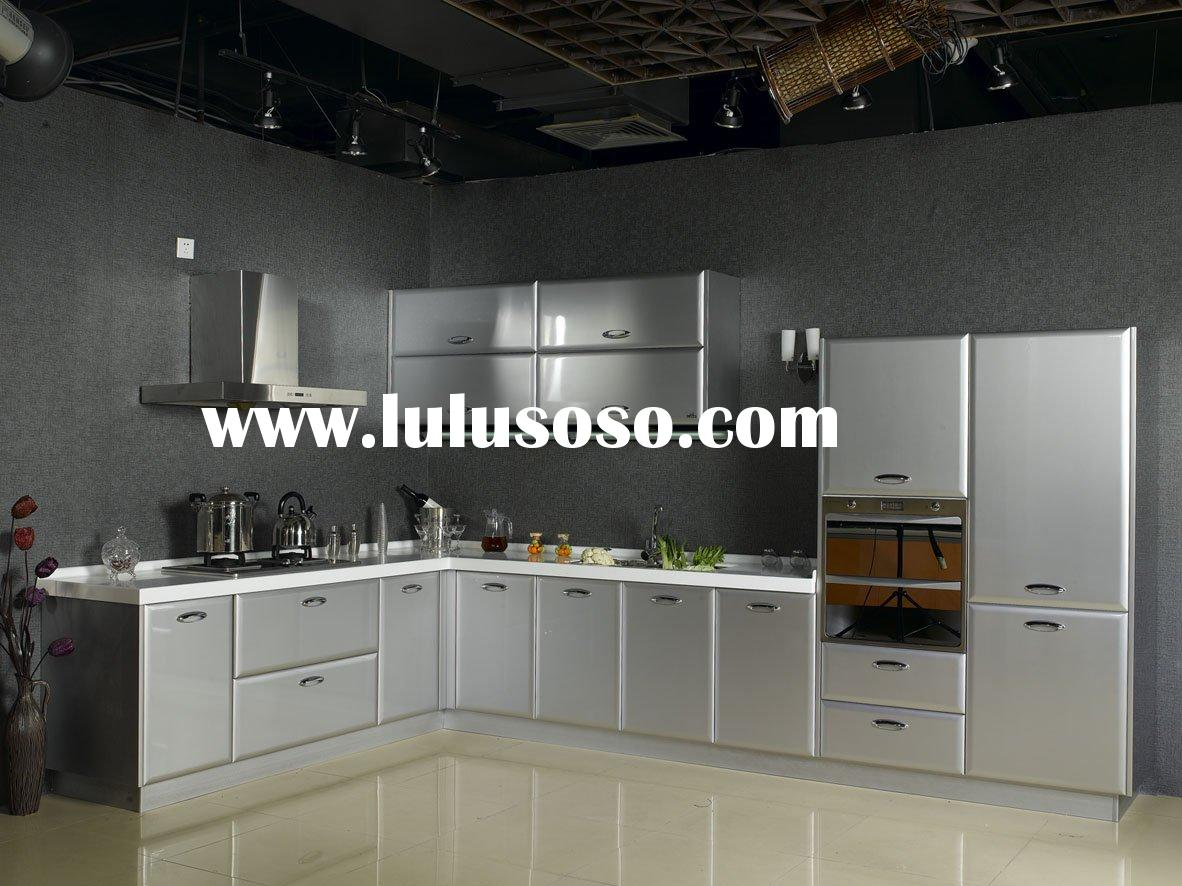 Kitchen cabinet stainless steel sink kitchen cabinet for Kitchen stainless steel cabinets