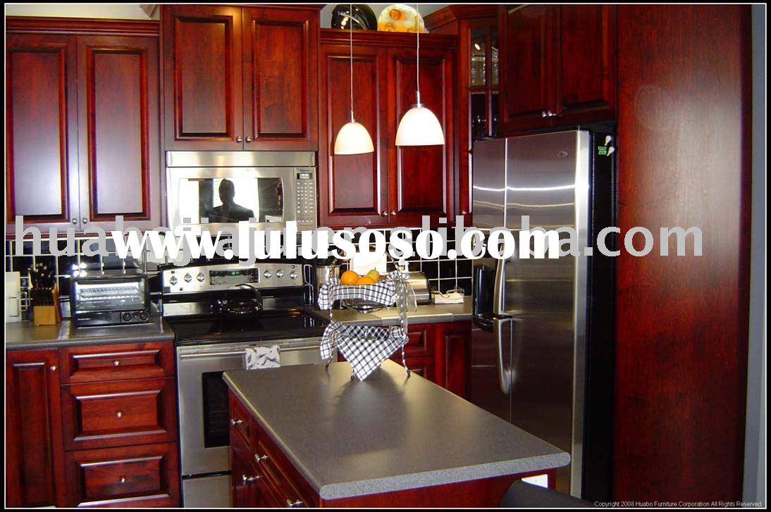 Wood veneer kitchen cabinet wood veneer kitchen cabinet for Veneer for kitchen cabinets